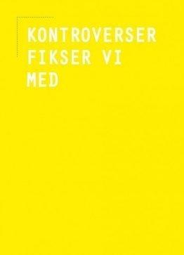 Dekorationskort, typografi, kontroverser 13x18 cm