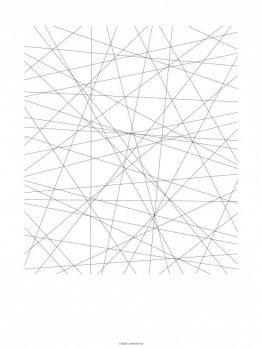 Plakater, Geometri, streger, 30x40 cm