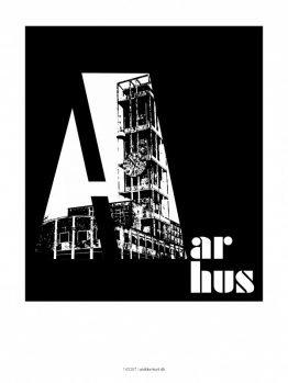 Plakater, byplakater, Aarhus, 30x40 cm