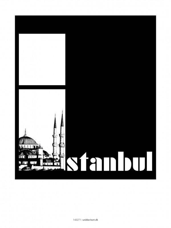 Plakater, byplakater, Istanbul, 30x40 cm