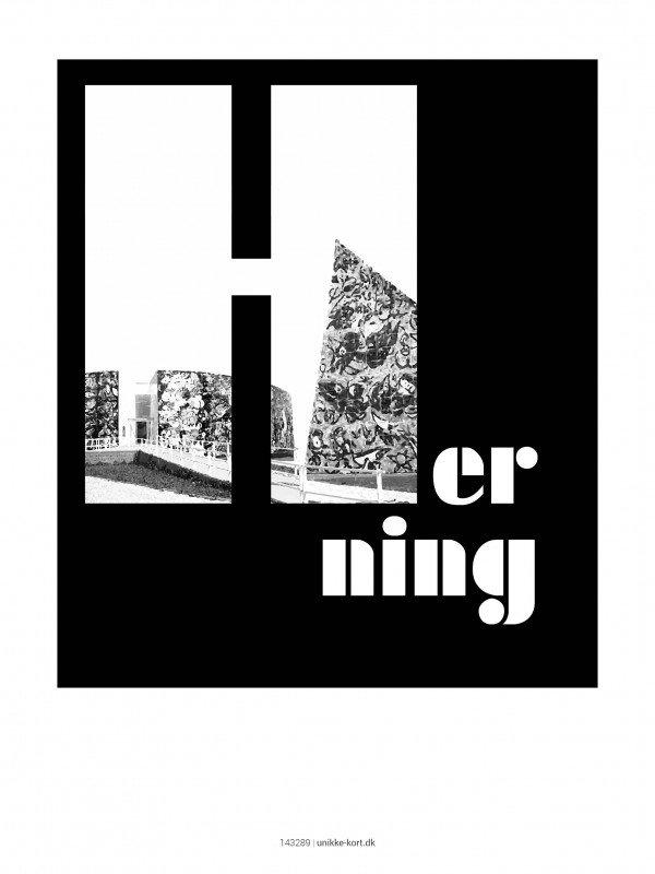 Plakater, byplakater, Herning, 30x40 cm