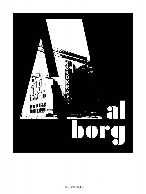 Plakater, byplakater, Aalborg, nordkraft, 30x40 cm