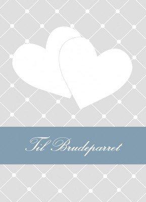 Til Brudeparret - Bryllupskort