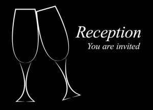 Reception, sort - invitation