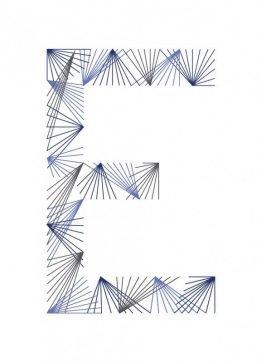 E illustration