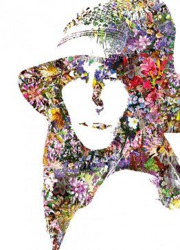 Dame med hat