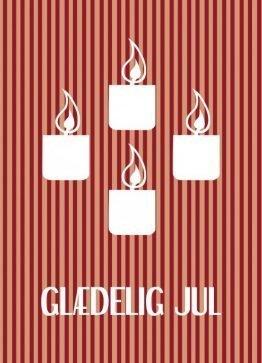 Advent - Julekort