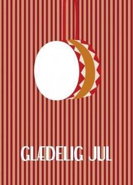Juletromme - Julekort