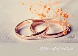 Tillykke med dagen, Kobberringe - Bryllupskort