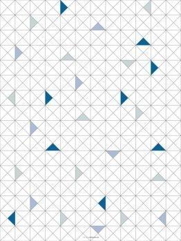 plakater, geometriske plakater, trekanter, 30x40 cm