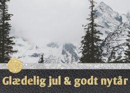 Landskab - Julekort