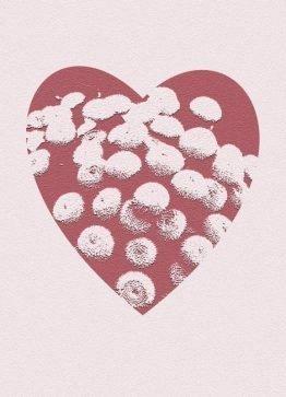 Hjerte mors dags kort