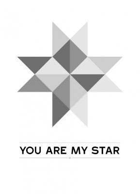 You are my star - Julekort