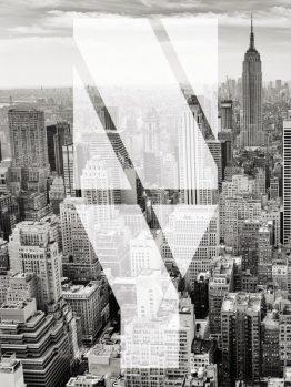 Plakater, typografi plakater, New York, 30x40 cm