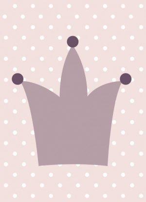 Prinsessekrone - barnedåb - navngivninge pige