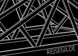 Rejsegilde, sort - Invitation