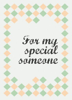 For my special someone - Julekort