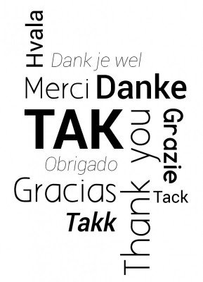 Tak på sprog