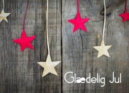 Stjerner - Julekort